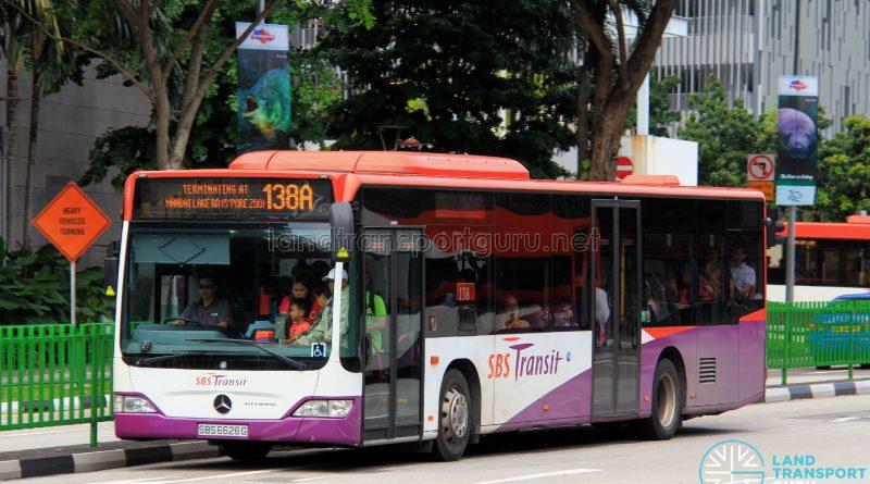 SBS Transit Mercedes Benz O530 Citaro (SBS6626G) - Service 138ASBS Transit Mercedes Benz O530 Citaro (SBS6626G) - Service 138A