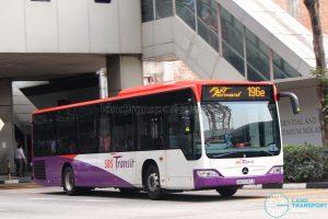 SBST Mercedes-Benz O530 Citaro (SBS6787A) - Service 196e