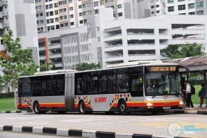 SMRT MAN A24 (SMB8016M) - Service 805