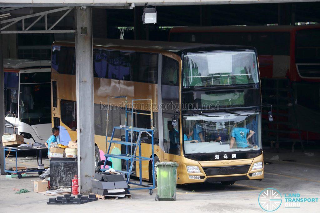 Hong Kong–Zhuhai–Macau MAN A95 at Gemilang