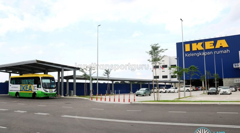 IKEA Tebrau Shuttle Bus - Pick-Up/Drop-Off point