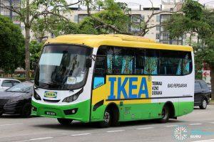 IKEA Tebrau Shuttle Bus (WRX5885)