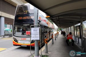 Joo Koon—Gul Circle Free Shuttle Bus Service at Joo Koon