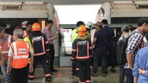 Joo Koon Train Collision (Today Online photo)