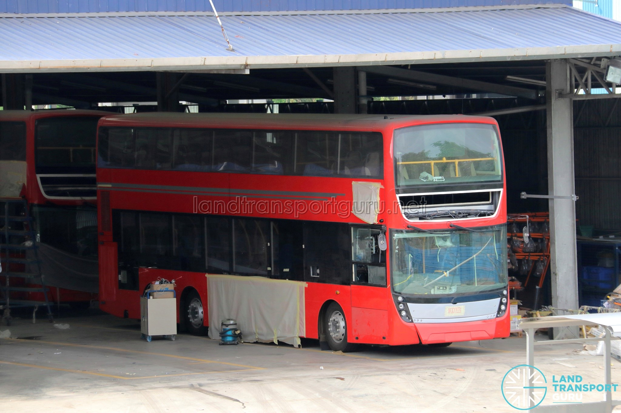 Kmb Volvo B9tl Assembled At Gemilang Land Transport Guru