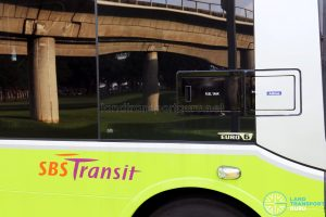 SBS Transit MAN A95 (SG2017C) - Diesel and AdBlue inlets