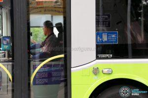 SBS Transit MAN A95 (SG2017C) - Euro 6 Badging