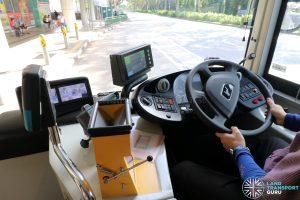 MAN A95 (SG2017C) - Driver's Cab