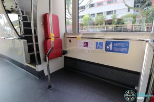 MAN A95 (SG2017C) - Wheelchair Bay