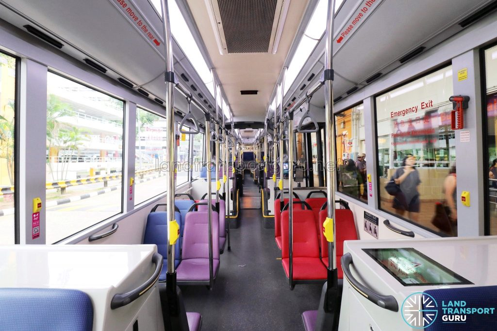 MAN NG363F (SMB388S): Interior (Front to Rear)