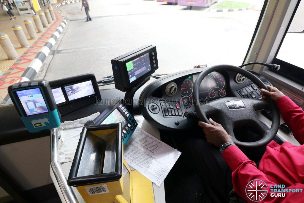 MAN NG363F (SMB388S): Driver's console