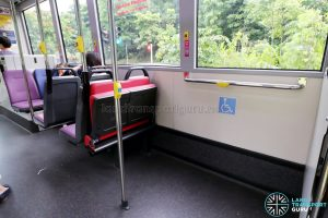 MAN NG363F (SMB388S): Wheelchair Bay