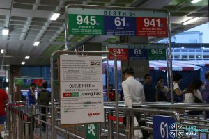 NSEWL Shortened Operating Hours - Shuttle Bus Service Queue at Bukit Batok
