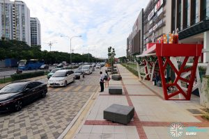 Paradigm Mall: Bus Stop 2 just off Jalan Skudai