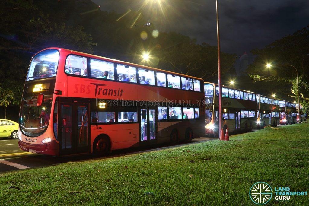 SCSM 2017: Orchard Bus Queue