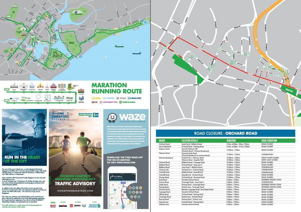 Standard Chartered Singapore Marathon - Traffic Advisory (Pg 1)
