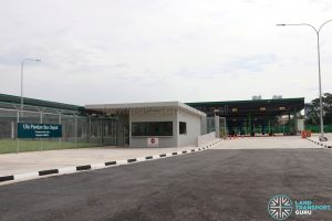 Ulu Pandan Bus Depot: Main Entrance