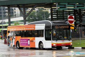 SMRT MAN NL323F A22 (SMB1529X) - Service 811A