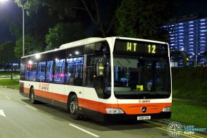 SMRT Mercedes Benz Citaro (SMB178G) - Worker's Transport WT12