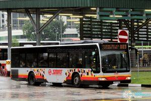 SMRT Mercedes-Benz Citaro (SMB179D) - Service 803