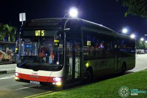 SMRT MAN NL323F (SMB224G) - Worker's Transport WT15