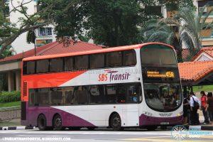 SBS Transit Volvo B9TL Wright (SBS3136Z) - Service 45A