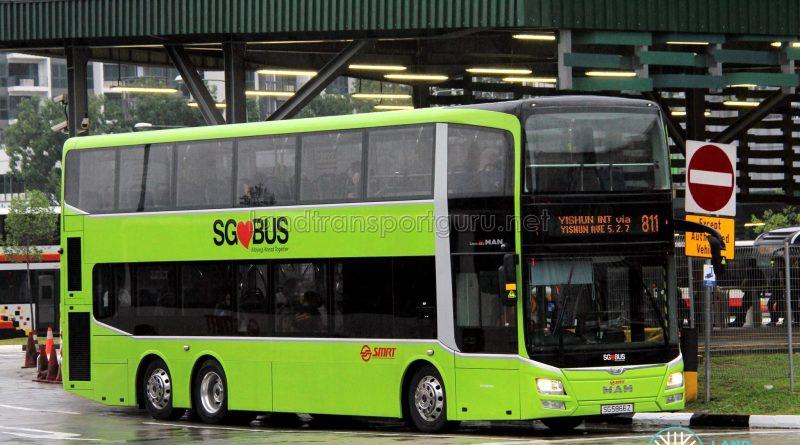 SMRT MAN A95 ND323F (SG5866Z) - Service 811