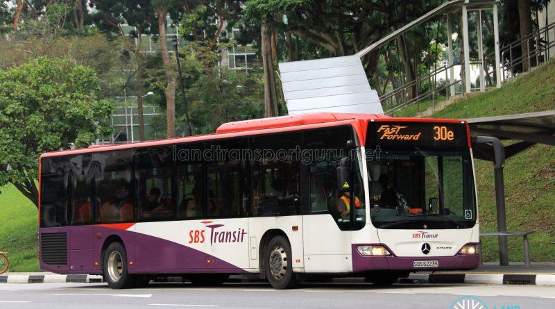 SBS Transit Mercedes-Benz Citaro (SBS6223K) - Service 30e