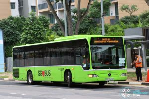 Go-Ahead Mercedes Benz Citaro (SBS6543L) - Shuttle 8