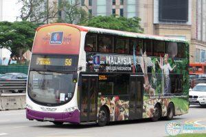 SBS Transit Volvo B9TL Wright (SBS7720K) - Service 56