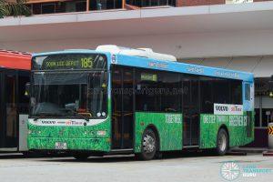 Volvo B5RLE Hybrid (SBS8002T) - Service 185