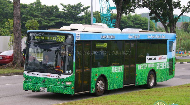 Volvo B5RLE Hybrid (SBS8002T) - Service 268