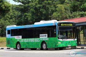 Volvo B5RLE Hybrid (SBS8002T) - Express 506