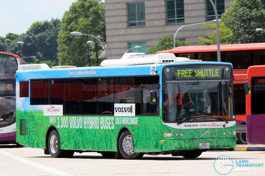Volvo B5RLE Hybrid (SBS8002T) - Free Shuttle