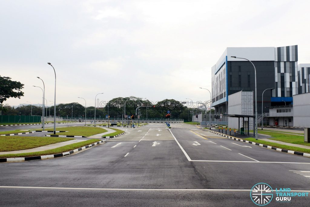 CETRAN Test Circuit roads