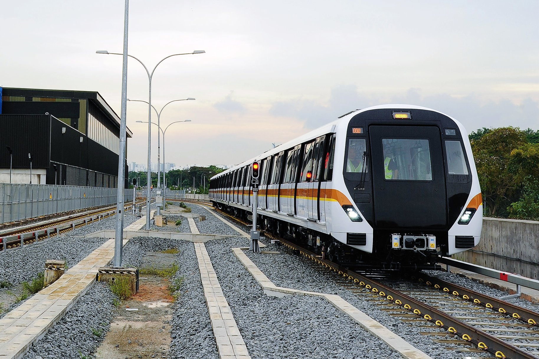 CT251 in Mandai Depot (Photo: LTA)