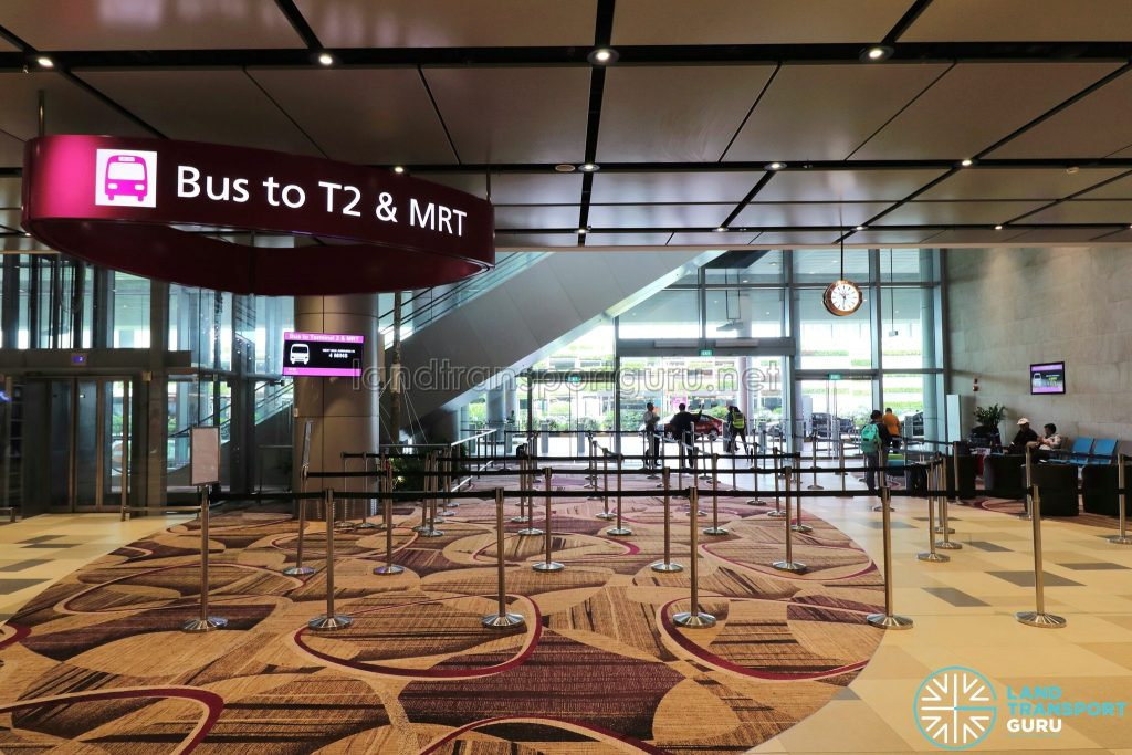 Changi Airport T4 Shuttle - T4 Boarding Point