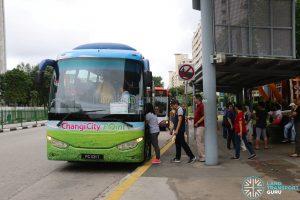 Changi City Point Shuttle Bus - Simei Pickup Point