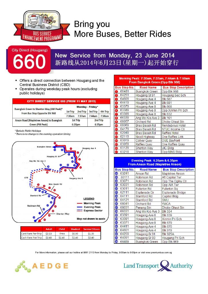 City Direct 660 Poster (March 2017)