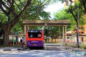 Bus Service 63 at Rumah Tinggi Terminal