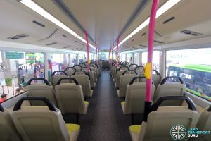 Volvo B8L (SG4003D) - Upper Deck (Rear to Front)