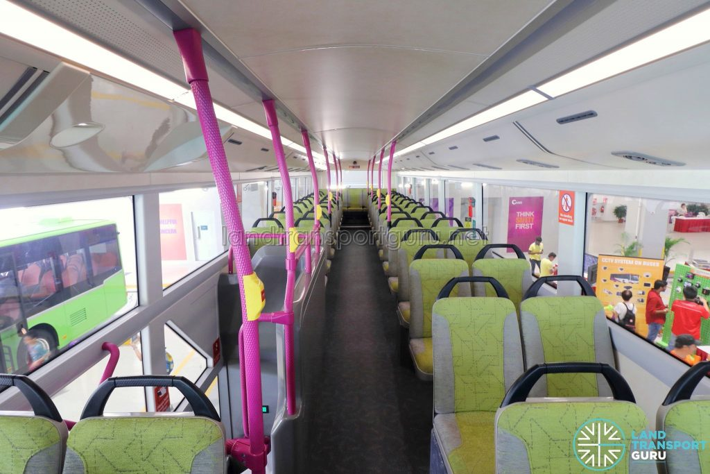 Volvo B8L (SG4003D) - Upper Deck (Front to Rear)