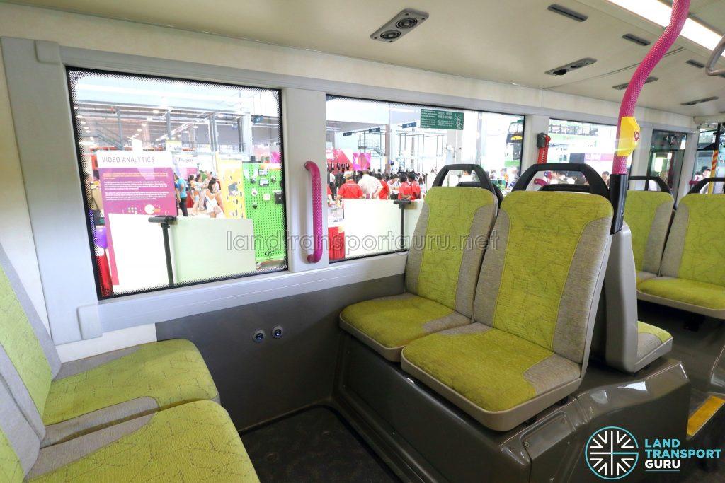 Volvo B8L (SG4003D) - Lower Deck rear seating