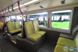 Volvo B8L (SG4003D) - Lower Deck rear seating