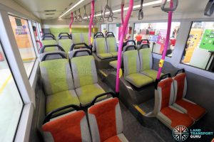 Volvo B8L (SG4003D) - Lower Deck rear seating area