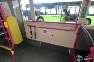 Volvo B8L (SG4003D) - Wheelchair Bay with belt restraints