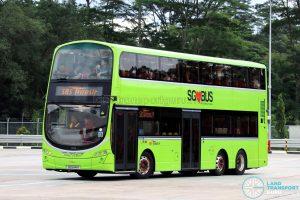 SBS Transit Volvo B9TL Wright (SG5441R) - Seletar Bus Depot Carnival Depot Tour