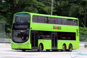 SBS Transit Volvo B9TL Wright (SG5608C) - Seletar Bus Depot Carnival Shuttle A