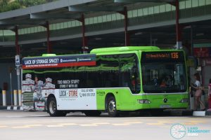 Gong Xi Fa Cai display on Bus 136