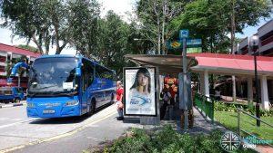 Changi Village-ALPS Shuttle Service - Boarding Stop